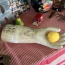 antique gardening gloves